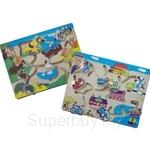 GeNz Kids Maze Board x2 (Animals & Transport) - 1014