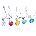 [Buy 1, Get 4 Free] Celovis S-Series Heart Shape made with Swarovski® Crystal Necklace
