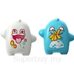 Flipper Onolulu Clumsy & Glutton Toothbrush Holder White / Blue (2 pcs set)