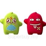 Flipper Onolulu Speedy & Blurry Toothbrush Holder Green / Red (2 pcs set)