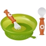 SIMBA Suction Plate with Spoon & Fork Set - 9604