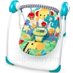 Bright Starts BS Kaleidoscope Safari Portable Swing - BBBS10624