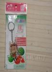 12生肖獸娘 X 台灣水果 馬【西瓜】壓克力鑰匙圈