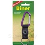 Coghlans Biner with Compass and Key Ring - 0365
