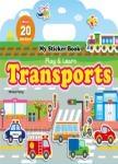 My Sticker Book:Transports (手提貼紙書英文版:交通工具)