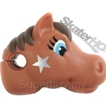 Scootaheadz Pony Brown - SH-PBR