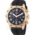 [ANNIVERSARY] Esprit Hi-level Night Men Black Rose Gold Watch - ES101101004