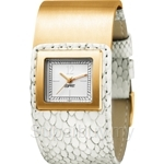 [ANNIVERSARY] Esprit Square Button Ladies' Watch Gold - ES101552012