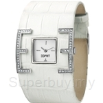 [ANNIVERSARY] Esprit E-Motion Ladies White Leather Watch - ES101702002