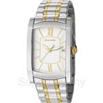 [ANNIVERSARY] Pierre Cardin Pont Des Arts Homme Two Tone Gold Bracelet Men Watch - PC105391F07