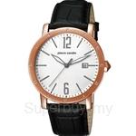 [ANNIVERSARY] Pierre Cardin Mon Nom Black Leather Strap Ladies Watch - PC105451F09