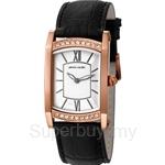 [ANNIVERSARY] Pierre Cardin Pont Des Arts Dame Black Strap Rose Gold Ladies Watch - PC105772F07