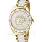 [ANNIVERSARY] Pierre Cardin Kaleidoscope De Luxe White & Gold Ladies Watch - PC105962F04