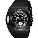 [ANNIVERSARY] Puma Turbo Black Men Rubber Strap Watch - PU101931003
