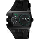 [ANNIVERSARY] Puma Traffic Black Green Rubber Strap Men Watch - PU102421002