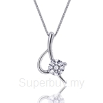 Kelvin Gems Premium Eternal Blade Pendant Necklace