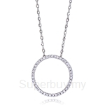 Kelvin Gems Premium Multiway Ring Large Pendant Necklace