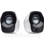 Logitech Stereo Speakers Z120-AU (Black & White) - 980-000514