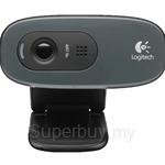 Logitech HD Webcam C270 + Mono Headset - 960-000627