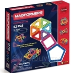 Magformers Rainbow Extreme FX Standard 62pcs Set - MAGF-701007