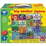 Orchard Toys Big Number Jigsaw - Orchard-237