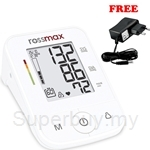 Rossmax Automatic Blood Pressure Monitor X3 FREE Adaptor