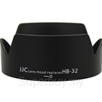 JJC Lens Hood Replaces Nikon HB-32 - LH-32
