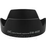 JJC Lens Hood Replaces Canon EW-60II - LH-60II