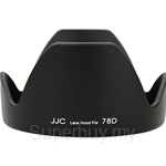 JJC Lens Hood Replaces Canon EW-78D - LH-78D