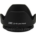 JJC Screw-in Lens Hood for Standard Zoom Lens 49mm - LS-49