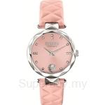 Versus Covent Garden VESCD020016 Stainless Steel Pink Dial Pink Strap Ladies Watch
