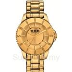Versus Tokyo 42mm VESGM220015 Stainless Steel IP Yellow Gold Bracelet Champagne Dial Ladies Watch