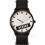 Versus Less VESO6090014 Black Canvas Strap Ladies Watch