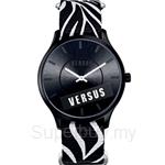Versus Less VESO6110014 Black Canvas Strap Ladies Watch