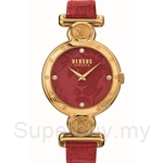 Versus Sunnyridge VESOL030015 Red Strap Ladies Watch