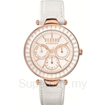 Versus Sertie Multifunction VESOS030015 White Dial White Strap Ladies Watch