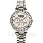 Versus Sertie Multifunction VESOS060015 Silver Dial Stainless Steel Ladies Watch