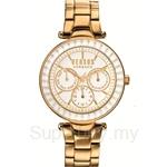 Versus Sertie Multifunction VESOS090015 White Dial Stainless Steel IP Yellow Gold Bracelet Ladies Watch