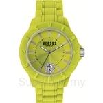 Versus Tokyo R VESOY080016 Yellow Silicone Strap Ladies Watch