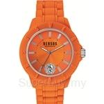 Versus Tokyo R VESOY100016 Orange Silicone Strap Ladies Watch