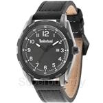 Timberland Newmarket TBL.13330XSUB/61A Black Leather Strap Men Watch