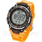 Timberland Cadion TBL.13554JPB/04A Orange PU Strap Digital Men Watch