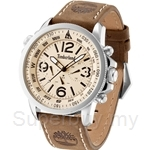 Timberland Campton TBL.13910JS/07 Brown Leather Strap Men Watch