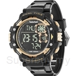 Timberland Tuxbury TBL.14260JPB/02A Black PU Strap Digital Men Watch