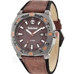 Timberland Rindge Gent Brown Leather Strap Watch - TBL.14364JSU/12