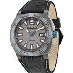 Timberland Rindge Gent Black Blue Leather Strap Watch - TBL.14364JSU/61