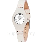 Timberland Laconia White Leather Strap Ladies Watch TBL.14387LS/01BG