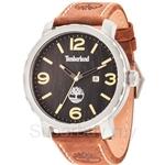 Timberland Pinkerton TBL.14399XS/02 Brown Leather Strap Black Dial Men Watch