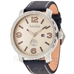 Timberland Pinkerton TBL.14399XS/07A Blue Leather Strap Beige Dial Men Watch