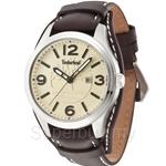 Timberland Moringa TBL.14476JS/07 Dark Brown Leather Strap Men Watch